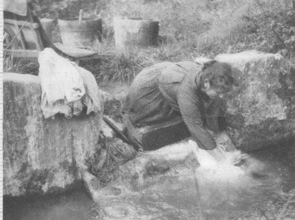 comment laver t on son linge autrefois